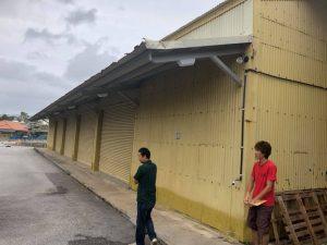 沖縄県名護市のボルダリングジムBANJATの外観